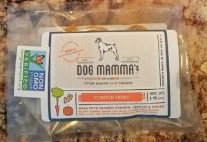 Dog mamma's pumpkin dog treats